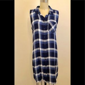 Soo Cute Blue plaid Dress